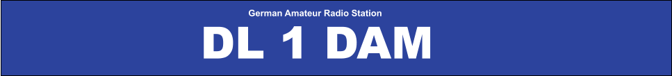 German Amateur Radio Station DL 1 DAM